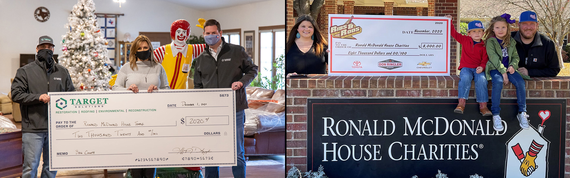 Host a Fundraiser to Benefit RMHC of Temple Texas