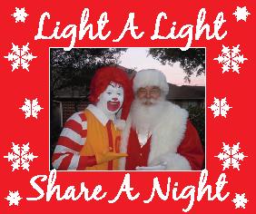 Light a Light Fundraiser for the Ronald McDonald House of Temple, TX
